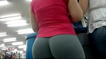 in gray yoga pants woman Samantha rae 3gp