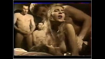 gangbang french bukkake Cute blonde widens her legs wide for slit licking