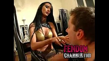 dominatrix slave beats up Gianna monsters of cock