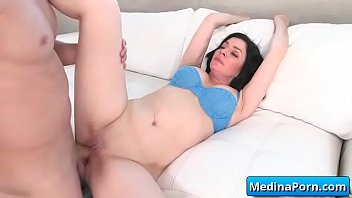 hard adultery fucked busty vid34 get wife Cuckold cleans bulls cum