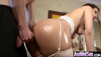 girl anal dirty rammed gets young Cream pie doggystyle