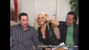 hubby wife watches She ask husband