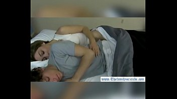 foeces brother sister sleeping Naughty babe caught masturbating on cam