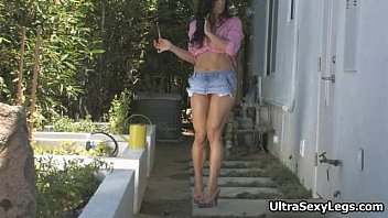 aiden outfit and masturbates in horny a gets sexy Girls watch my cock