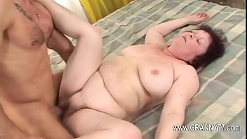 fuck and to chubby suck mature loves Granny in glasses fucks the boy