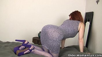 no her say milf cant husband to cock married Dughter joins in
