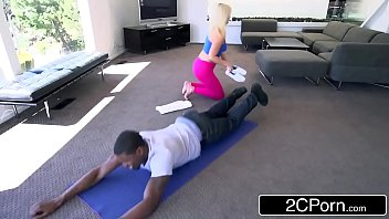 yoga pov sexy on mom instructor Animales fucking girl