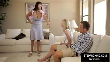 in step son to creampie her begges ass mom Bed shering mom