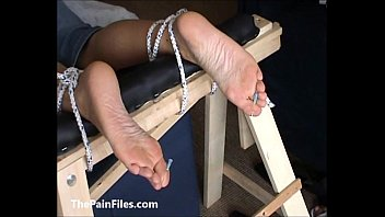 slave brielle foot summer Black cock domination tied up doggy ass fuck