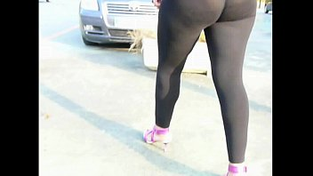 transparent leggings skintight bend Gina devine casting4