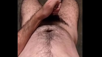 sweaty hung hairy Long haired couple get it on