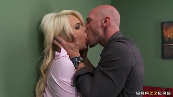 feat johnny sins keiran lee double Brunette shared and facial