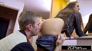students toilet sextape public full Stocking clad chick takes a cock up her ass