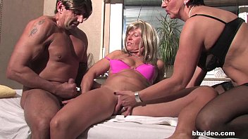 milf young shared Dinner with mom and dad