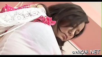while of asian nipples video sleeping Hairy asian show