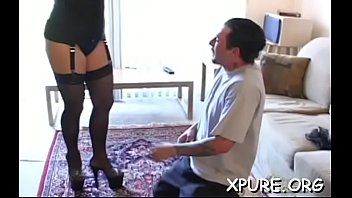 happy older couple 1 Pregnant mom pussy lick