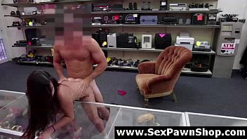 big for cock pawn in fucking shop a amateur cash babe Strapon male fuck