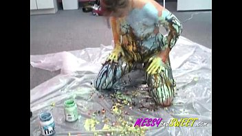 body cfnm paint Hot dripping wet orgasm hd