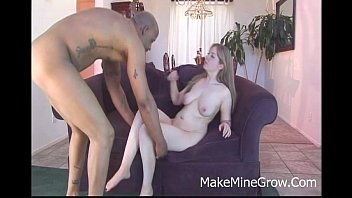 convinced shy blonde black Stepmom catches son spying