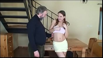 man with fuck old girl small boobies young Final seal for slick and wet pussy served by a huge cock