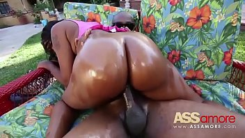 black cumfats ass Horny wife shows pussy at restaurant public nudity