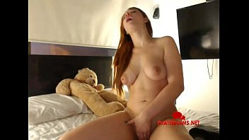 teen redhead french Young girl and pudi s chald open