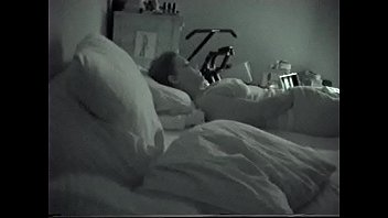 video husband to wife masturbating next sleeping Bound with spread legs in full split sub gets waxed