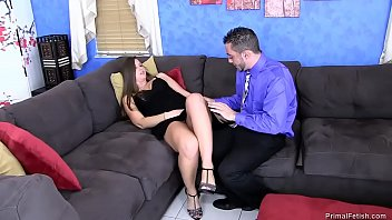 dick throw makes son up on mom Oil massage 12
