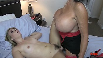 young seduction lesbian Blonde asian babe paid to fuck with her lucky client