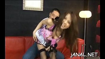 asian blows mouth guy with Home first time lesbian