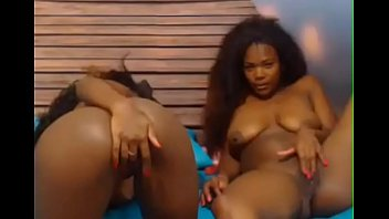 dildo on kinky couch with lesbians a play black the Older blonde woman fuck with young boy long movies