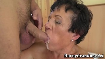 old 120yar lady sex Asian both holes creampie
