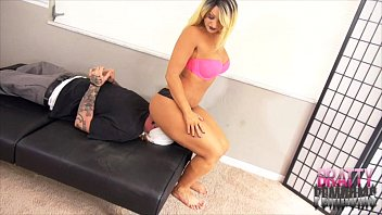 facesitting femdom handjob Girls out west hairy lesbian babe tied up and licked