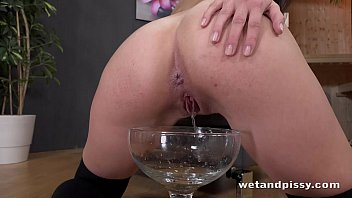piss shit girl Chinese wife blindfolded