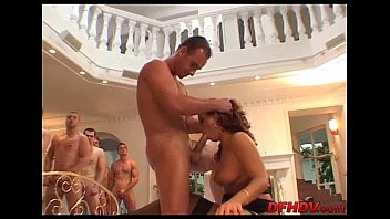 guy creampie held down Italian mother seduce little son at breakfast table
